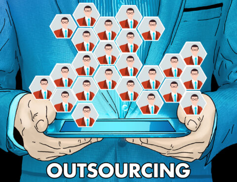 outsourcing, business, labor